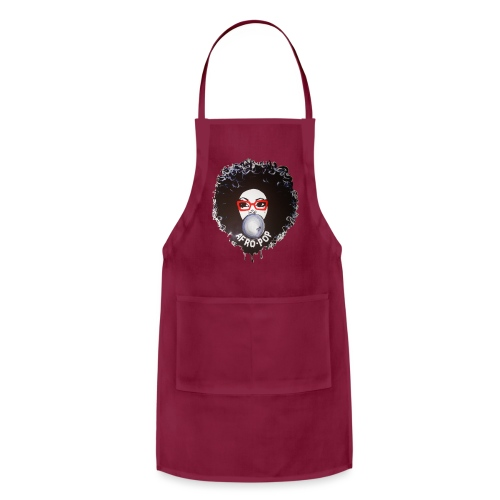Afro pop_ - Adjustable Apron