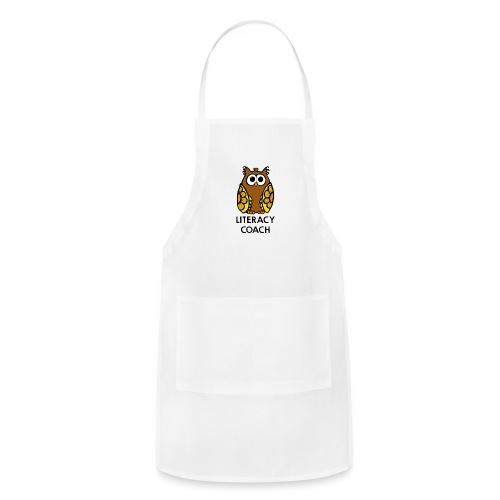 literacy coach png - Adjustable Apron