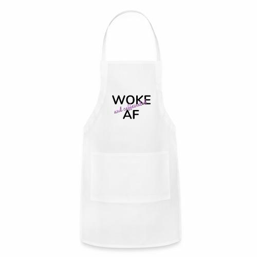 Woke & Caffeinated AF design - Adjustable Apron