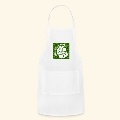Hand with a joint - smoking weed 420 lifestyle - Adjustable Apron