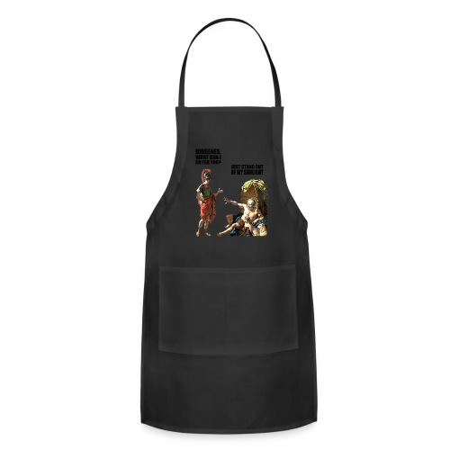 hlalexander and diogene2 black - Adjustable Apron