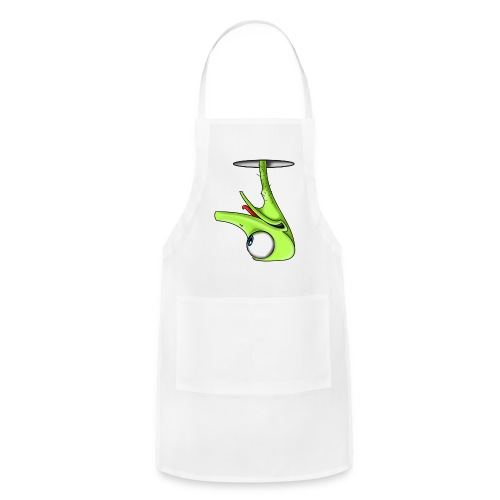 Funny Green Ostrich - Adjustable Apron