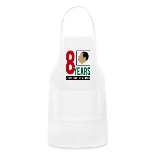 Obama Zero Indictments - Adjustable Apron
