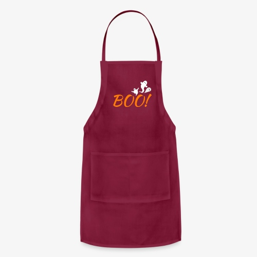 BOO GHOSTS - Adjustable Apron