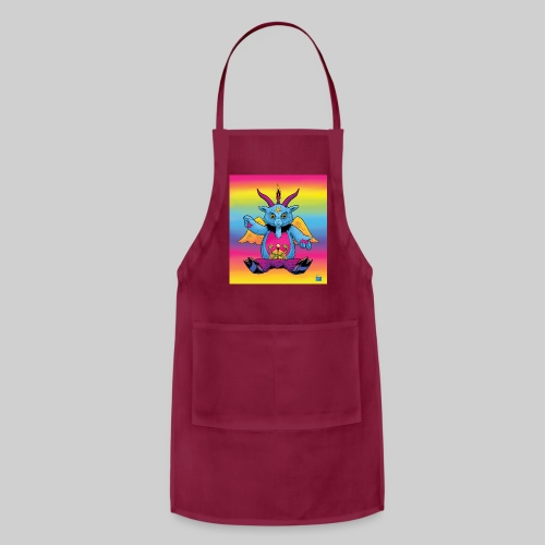 Rainbow Baphomet - Adjustable Apron