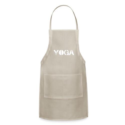 YOGA white - Adjustable Apron