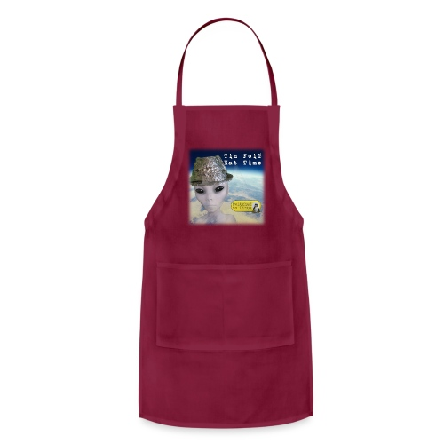 Tin Foil Hat Time (Earth) - Adjustable Apron