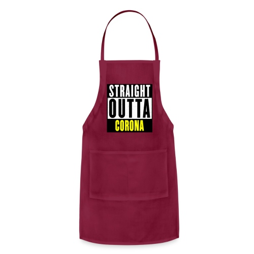 Straight Outta Corona - Adjustable Apron
