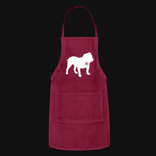 Bulldog love - Adjustable Apron