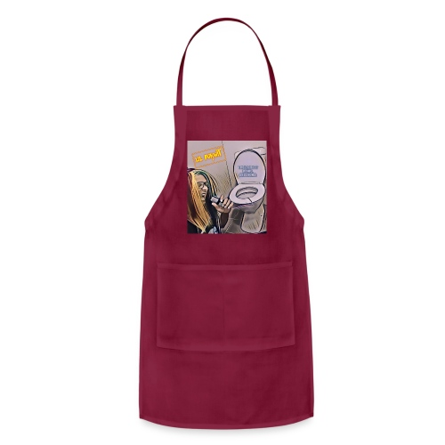 Toilet bowel sessions - Adjustable Apron