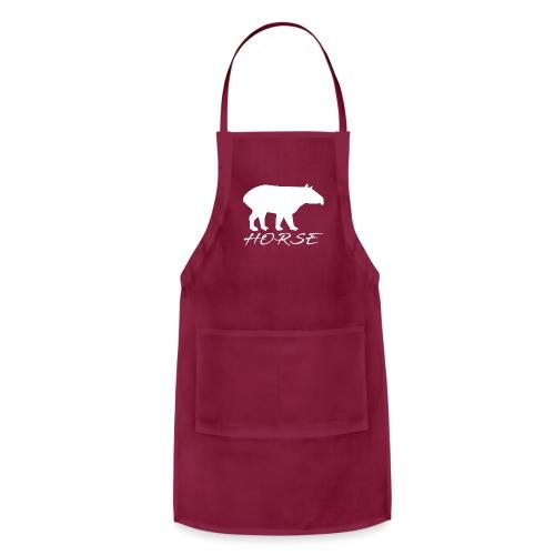 Tapir white design - Adjustable Apron