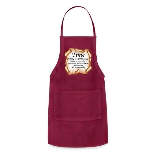 Time Is Relative - Adjustable Apron