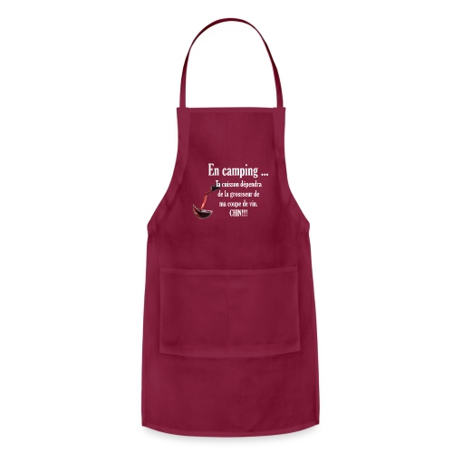 BBQ camping apron - Adjustable Apron