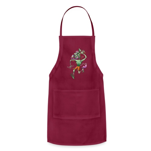 Zombie in Trouble Falling Apart - Adjustable Apron