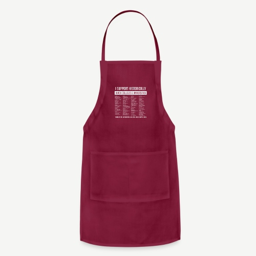 Support HBCUs List - Adjustable Apron