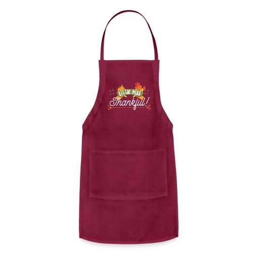 Thanksgiving Design - Little Miss Thankful - Adjustable Apron