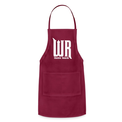 Wachler Records Light Logo - Adjustable Apron