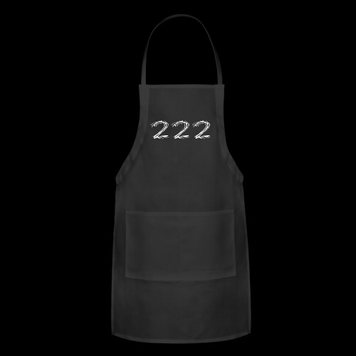 222 Chalk Style Pocket Logo - Adjustable Apron