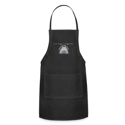 Disappointed Anime Doggo - Adjustable Apron