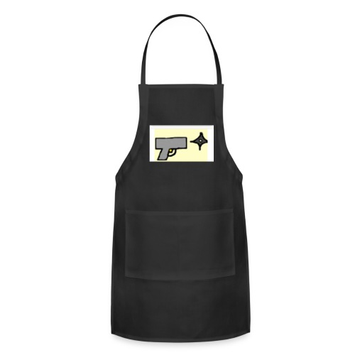ASAP ninja youtube logo - Adjustable Apron