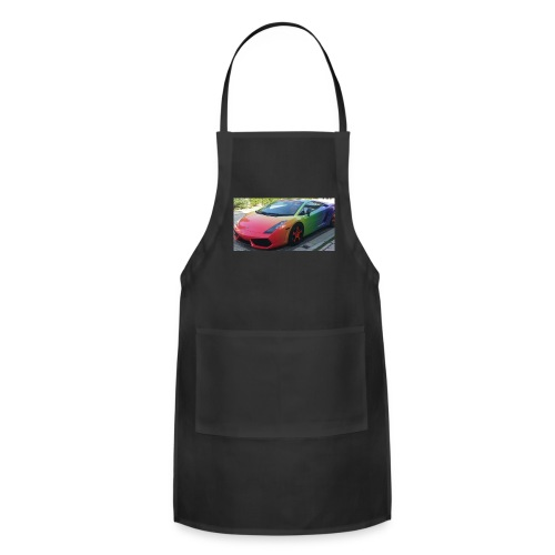 Lamborghini long sleeve - Adjustable Apron