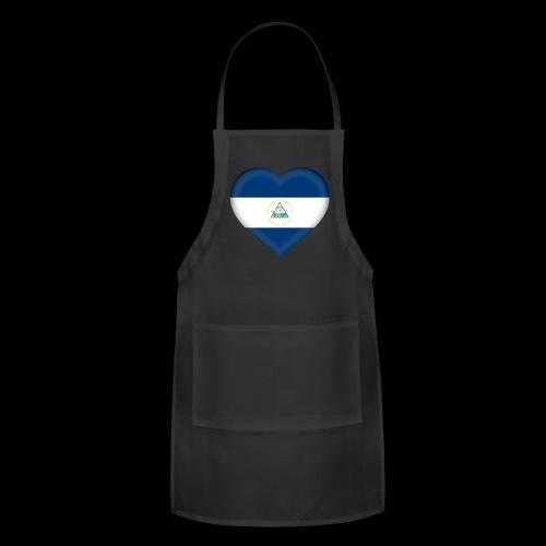 Nicaragua flag - Adjustable Apron