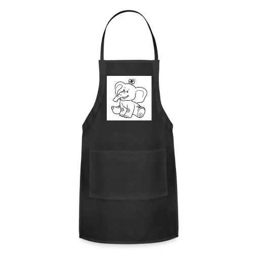 baby elephant - Adjustable Apron