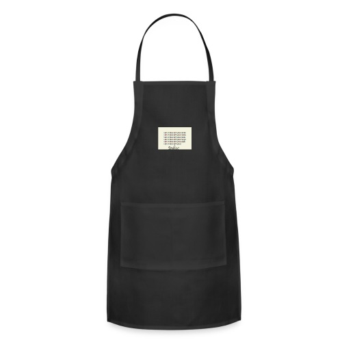 Love with you - Adjustable Apron