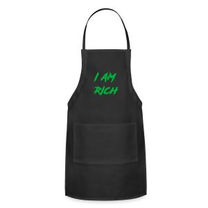 I AM RICH (WASTE YOUR MONEY) - Adjustable Apron