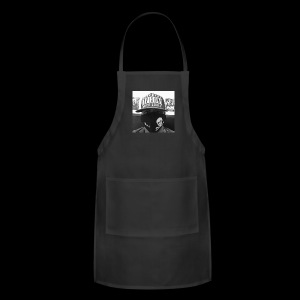 freaker126 covered face black and white photo - Adjustable Apron