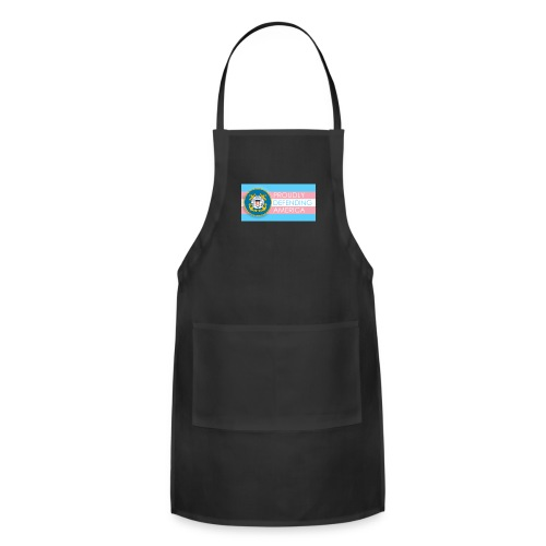 Transgender Coast Guard - Adjustable Apron