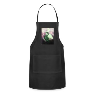 Black and White Swans - Adjustable Apron