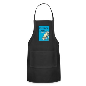 LIve is , fit and fine, work out - Adjustable Apron
