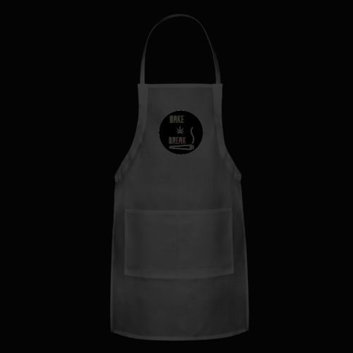 Bake Break Logo Cutout - Adjustable Apron