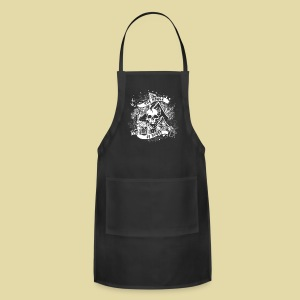 hoh_tshirt_skullhouse - Adjustable Apron