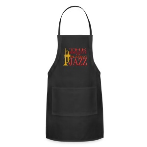 Trumpet T-Shirt - The Simplicity Of Playing Jazz - Adjustable Apron