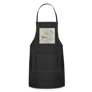The Perfect Rose - Adjustable Apron