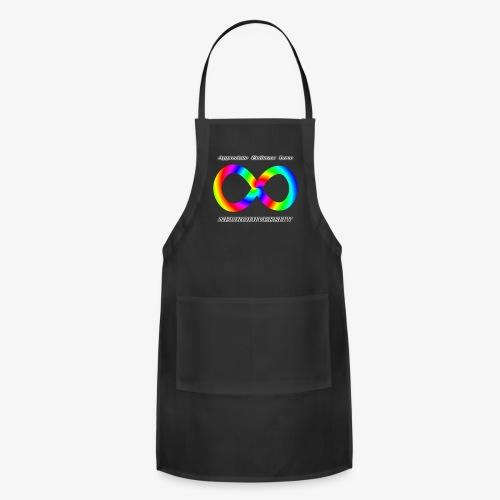 Embrace Neurodiversity with Swirl Rainbow - Adjustable Apron