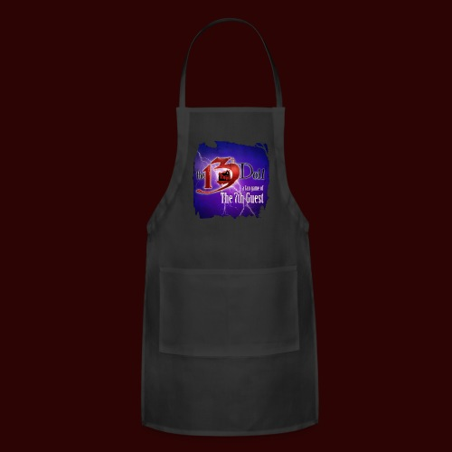 The 13th Doll Logo With Lightning - Adjustable Apron