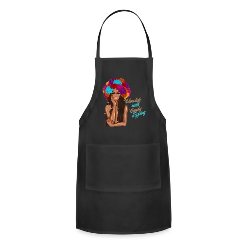 Chocolate Girl With CandyTopping - Adjustable Apron