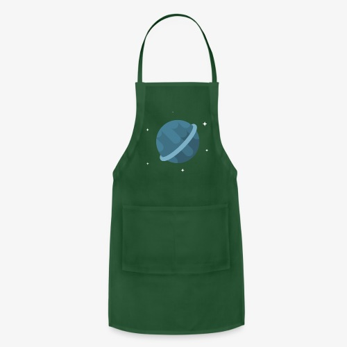 Tiny Blue Planet - Adjustable Apron