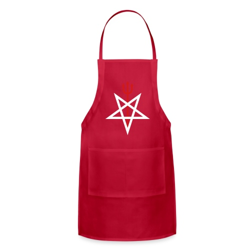 Pitchfork Pentagram - Adjustable Apron