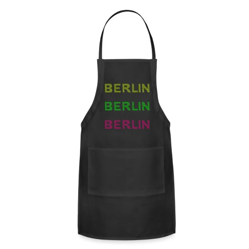 Berlin dots-font - Adjustable Apron