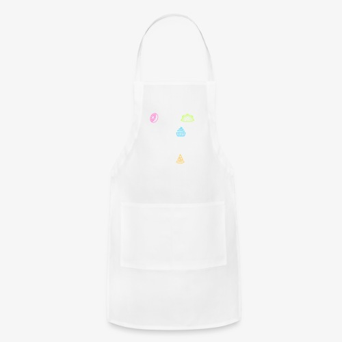 Donut Taco Bout Carbs Or You'll Get A Pizza Me v1 - Adjustable Apron