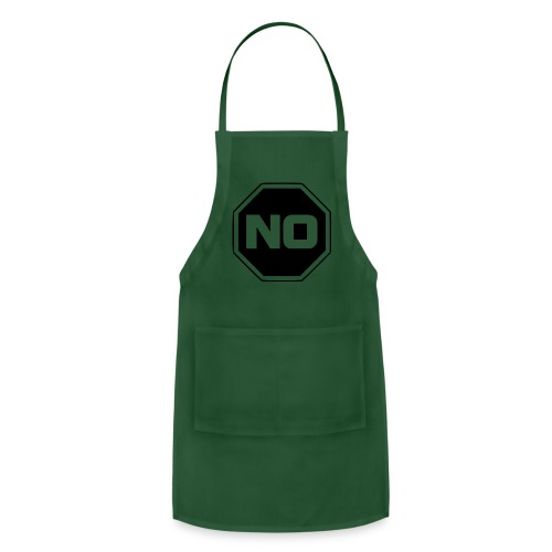 stopp say no - Adjustable Apron