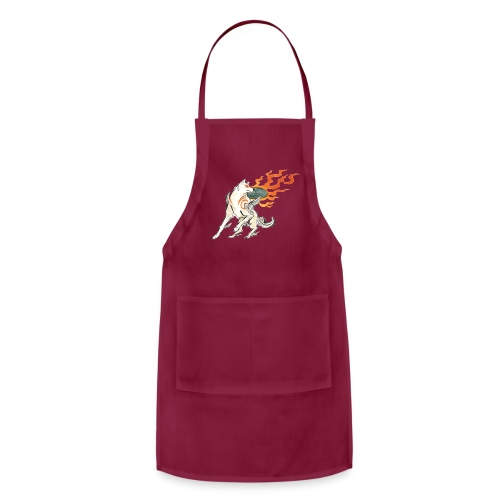 Fire wolf - Adjustable Apron