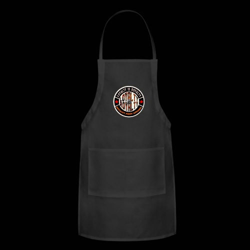 LOYALTY IS ROYALTY ROYALTY FIRST APPAREL LOGO SBP - Adjustable Apron