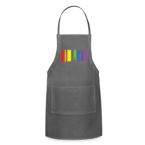 New York design Rainbow - Adjustable Apron