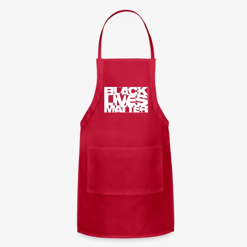 Black Live Matter Chaotic Typography - Adjustable Apron