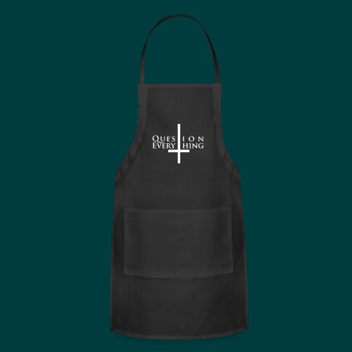 Question Everything (BLK) - Adjustable Apron